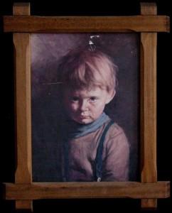 "Проклятая картина. ""Плачущий мальчик"". Фото"