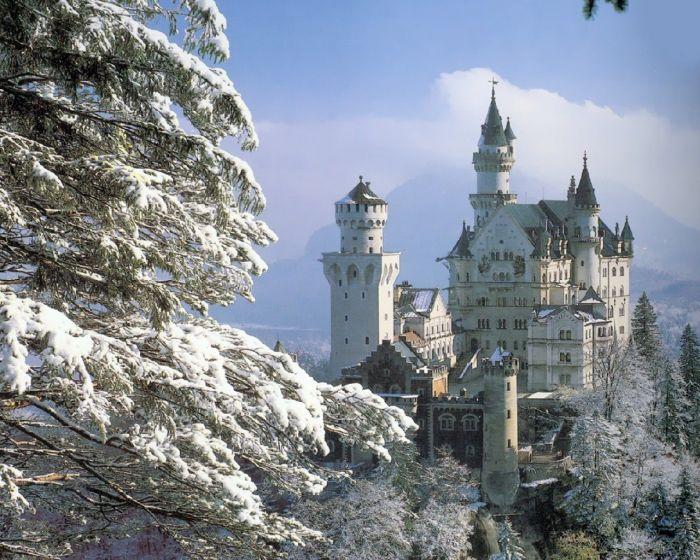 Замок Нойшванштайн. Фото