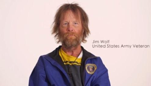 Перевоплощение бездомного Джима.